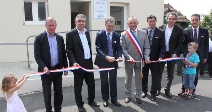 Photo actualité : Le télécentre de Cassaniouze inauguré