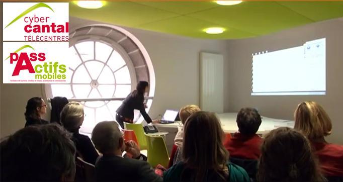 Photo actualité : Un bilan encourageant pour les télécentres du Cantal