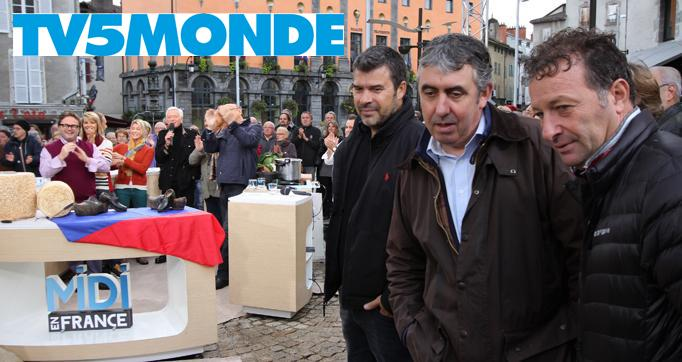Photo actualité : Midi en France : diffusion internationale sur TV5 monde
