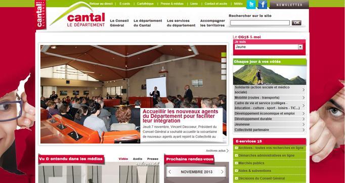 Photo actualité : Et le prix du meilleur site départemental est attribué à...
