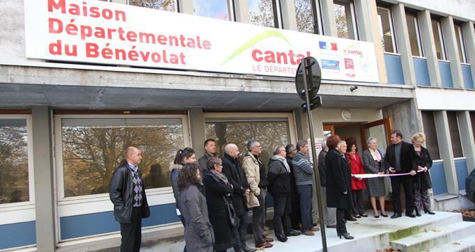 Photo actualité : Inauguration de la Maison du Bénévolat