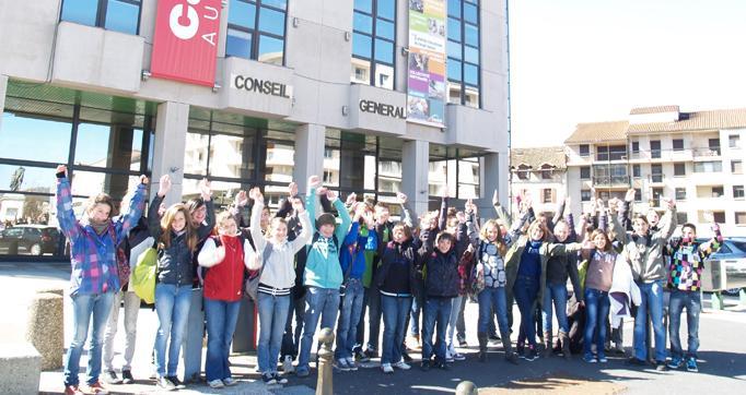 Photo actualité : Conseil départemental des Jeunes : aux urnes collégiens !