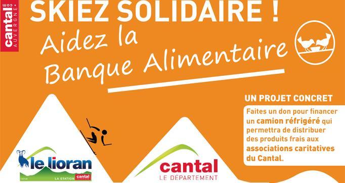 Photo actualité : Un week-end gratuit et solidaire au Lioran