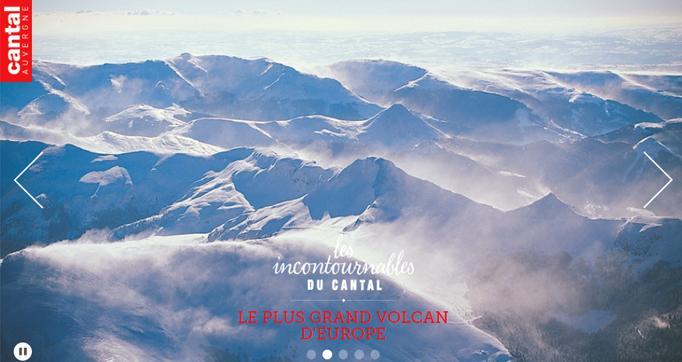 Photo actualité : Le site Internet de Cantal Destination fait peau neuve
