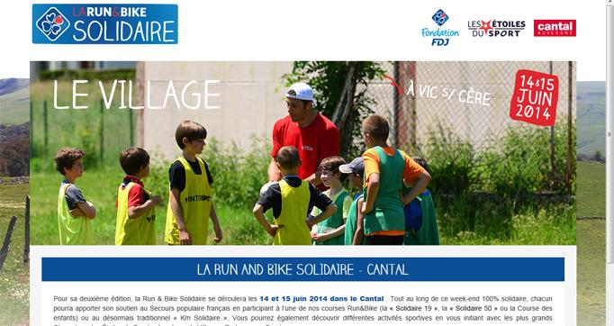 Photo actualité : Run&Bike Solidaire