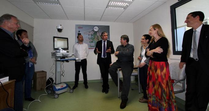 Photo actualité : Expérimentation Cybercantal Télémédecine