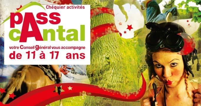 Photo actualité : Chéquier Activités du PASSCANTAL