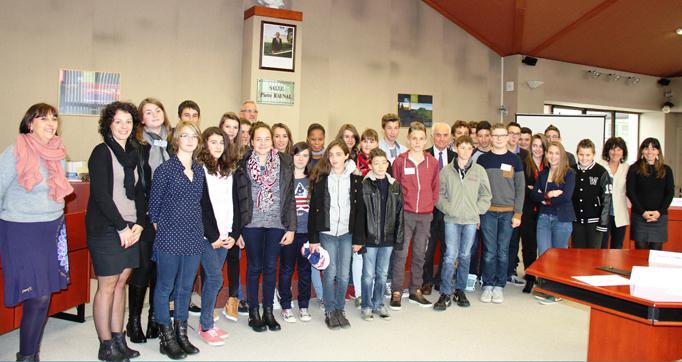 Photo actualité : Conseil départemental des Jeunes