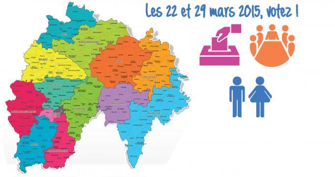 Photo actualité : Election départementales des 22 et 29 mars 2015