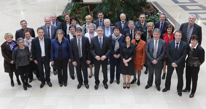 Photo actualité : Installation du Conseil départemental