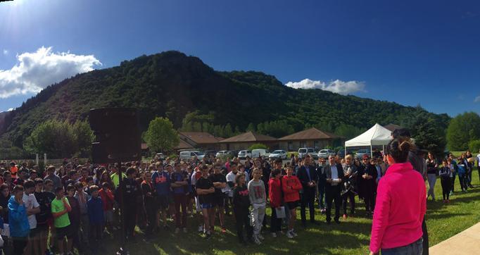 Photo actualité : Cantal Team Collège