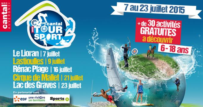 Photo actualité : Cantal Tour Sport