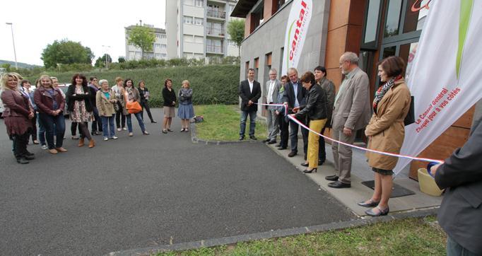 Photo actualité : Les Maisons départementales de la Solidarité inaugurées