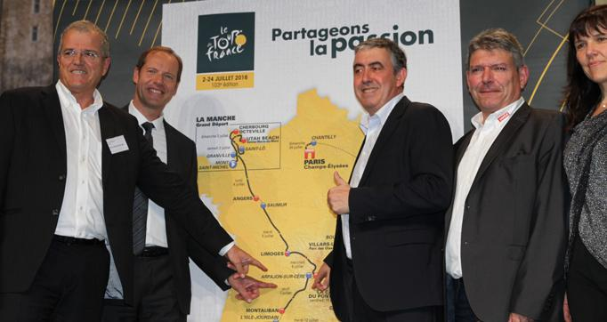 Photo actualité : Tour de France 2016, une bonne nouvelle pour le Cantal