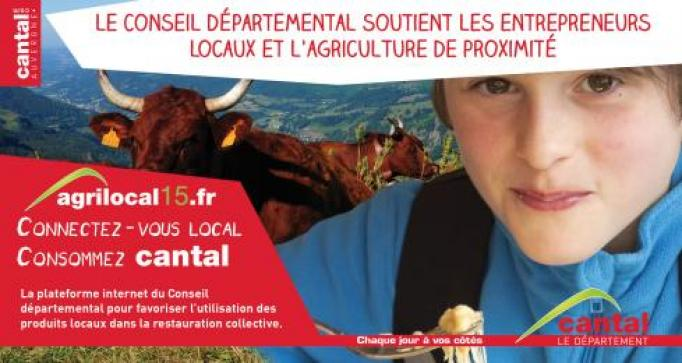 Photo actualité : 1er salon agrilocal15