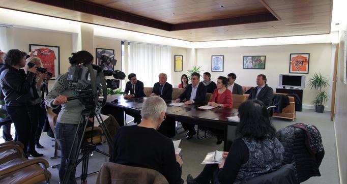 Photo actualité : Le Pacte Régional pour le Cantal adopté à l'unanimité par le Conseil départemental