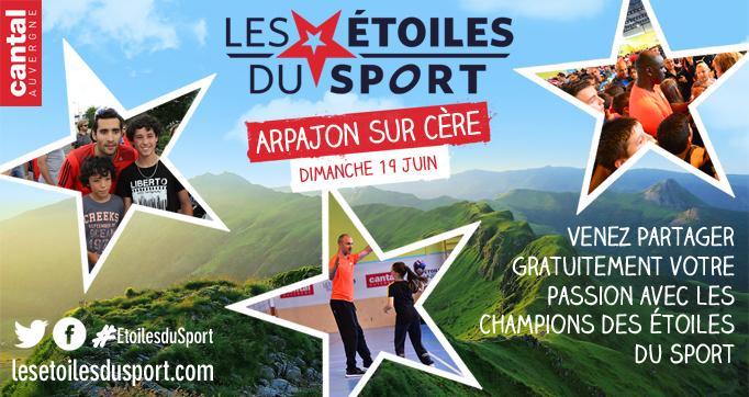 Photo actualité : Les Etoiles du Sport de retour dans le Cantal !