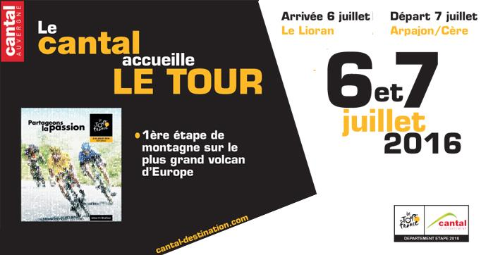Photo actualité : Le Cantal accueille le Tour !