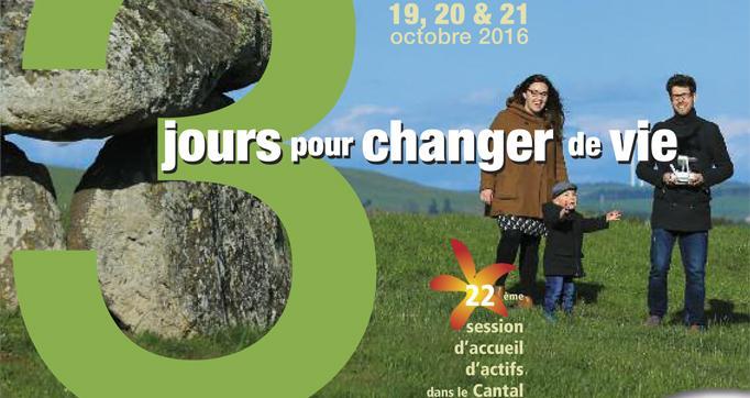 Photo actualité : Trois jours pour changer de vie et s'installer dans le Cantal