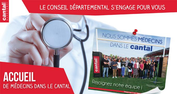Photo actualité : Accueil de Médecins dans le Cantal