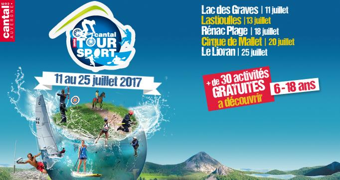 Photo actualité : Le Cantal Tour Sport est de retour !