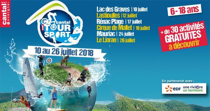 Photo actualité : Le Cantal Tour Sport anime l'été cantalien !