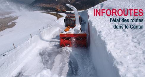 Infos routes