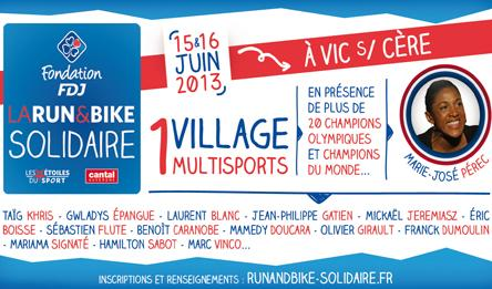 Jordanne FM - Run & Bike Solidaire