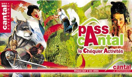 Chéquier Activités du PASSCANTAL