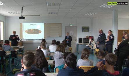 Réunion du Conseil départemental des Jeunes à Pierrefort