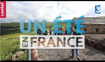 Tournage d'un été en France à Pailherols