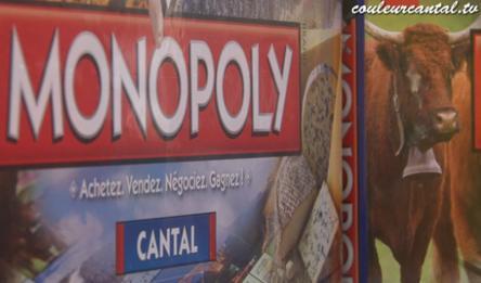 Le Monopoly Cantal est pret !