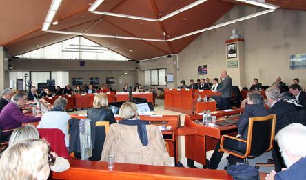 Séance extraordinaire du Conseil départemental du Cantal