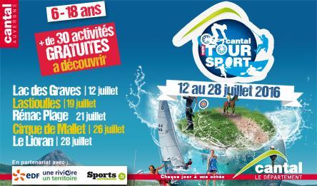 Présentation de l'édition 2016 du Cantal Tour Sport