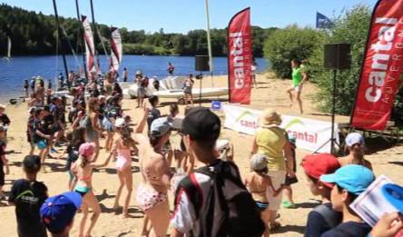 Le Cantal Tour Sport 2016 fait étape à Lastioulles.