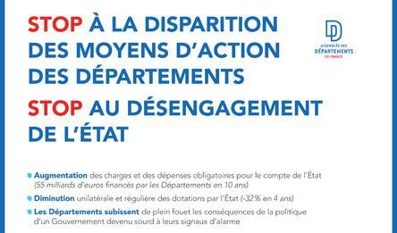 Vincent Descoeur, inquiet pour l'avenir des départements