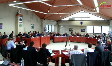 Séance publique du Conseil départemental du Cantal du 24 mars 2017