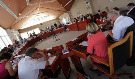 Election du nouveau Président du Conseil départemental, Bruno Faure.