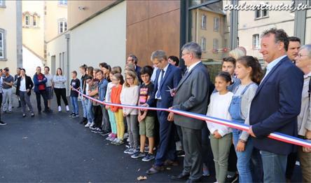 Un nouveau gymnase au collège Jules Ferry d'Aurillac