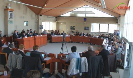 Séance publique du Conseil départemental du Cantal du 23 mars 2018