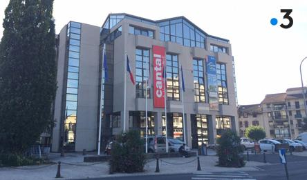 France 3 : Pacte financier : le Conseil départemental du Cantal tire la sonnette d'alarme