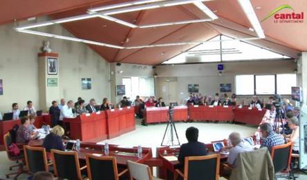 Séance publique du Conseil départemental du Cantal du 21 septembre 2018