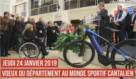 Voeux au monde Sportif 2019